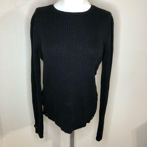 Ralph Ralph Lauren Black Sweater Size Large